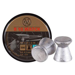 RWS R10 4,5 mm luftpistolkulor