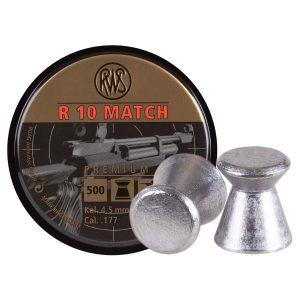 RWS R10 4,5 mm luftgevärskulor