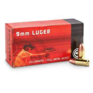 Geco 9mm luger 8 gram / 124 gr 50-pack