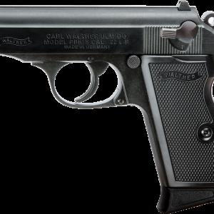Walther PPK/s black .22 pistol