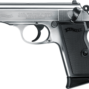 Walther PPK/s .22 stainless pistol
